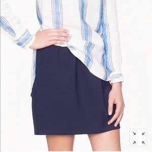J Crew double crepe skirt